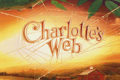 Charlotte's Web Game Boy Advance Title screen.