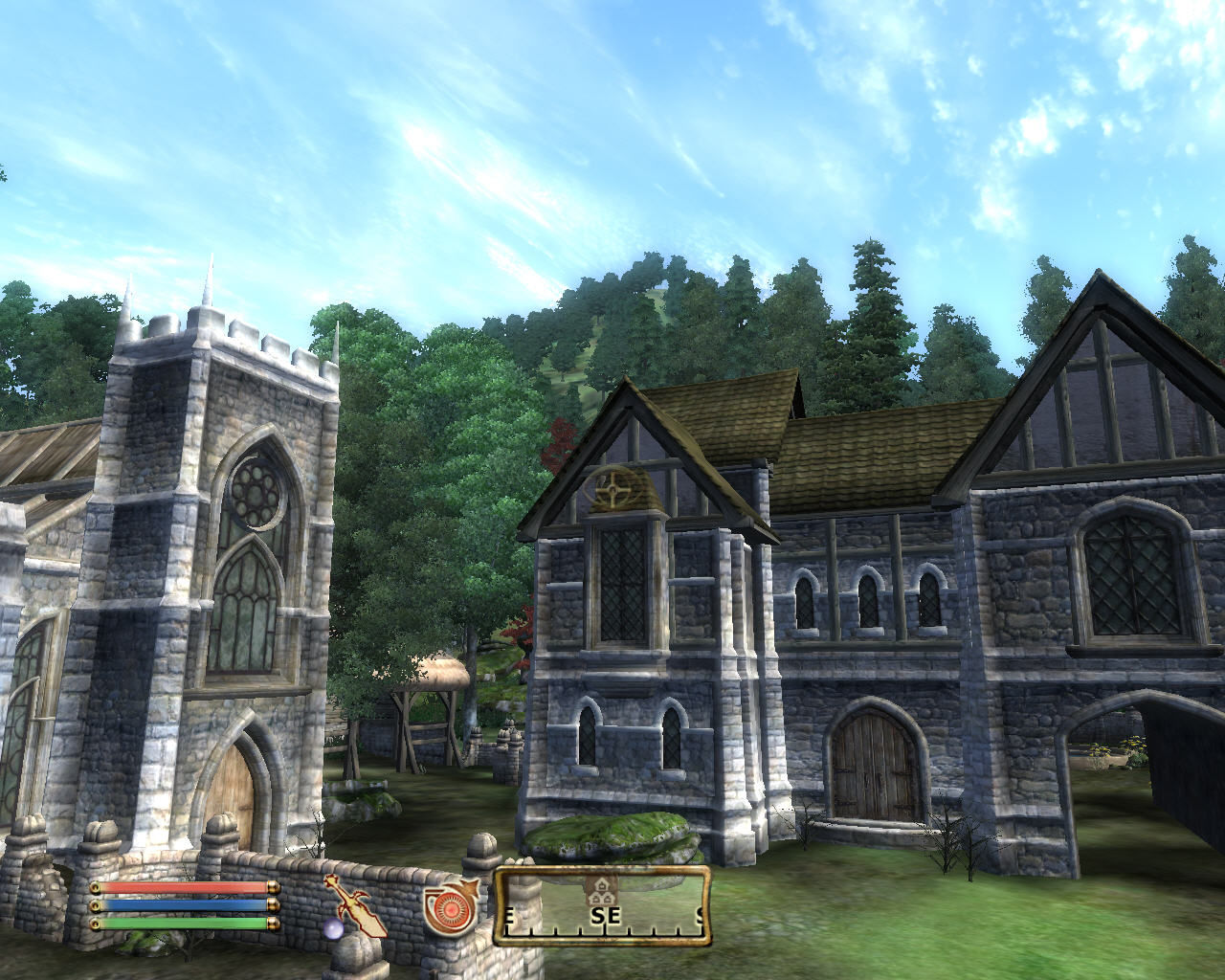 The Elder Scrolls IV: Knights of the Nine Windows Priory of the Nine