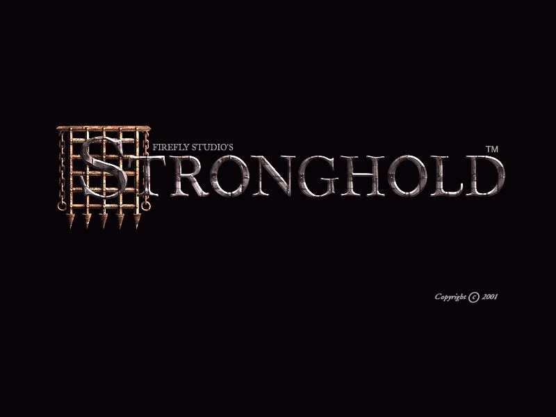 FireFly Studios' Stronghold Windows Title screen