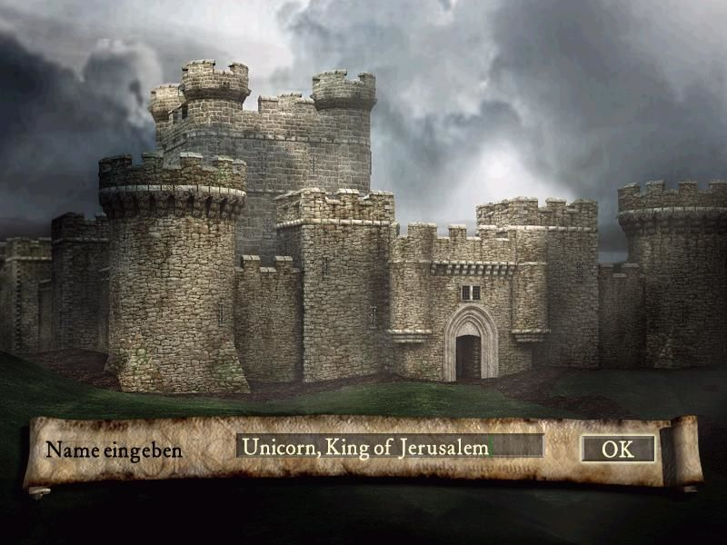 FireFly Studios' Stronghold Windows Choosing a name
