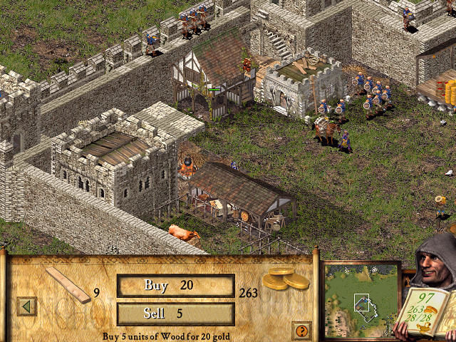 FireFly Studios' Stronghold Windows Trading stuff