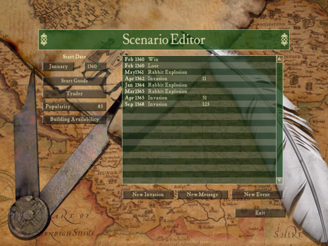 FireFly Studios' Stronghold Windows Scenario editor