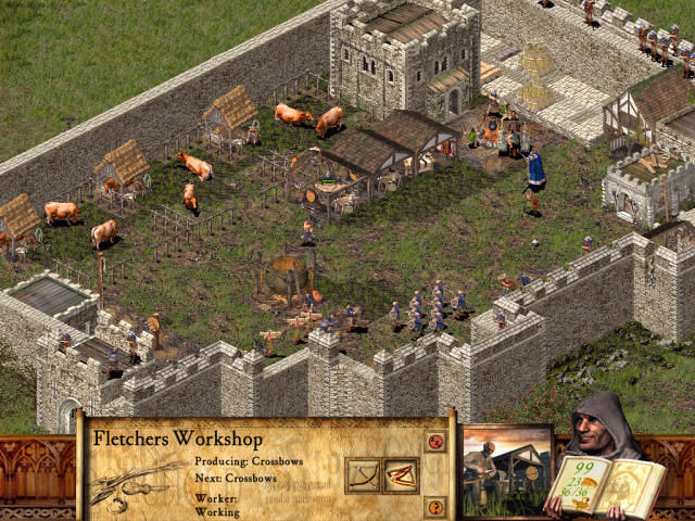 FireFly Studios' Stronghold Windows A workshop for crossbows