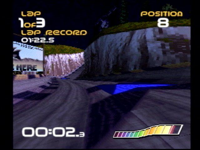WipEout PlayStation 1st-person view