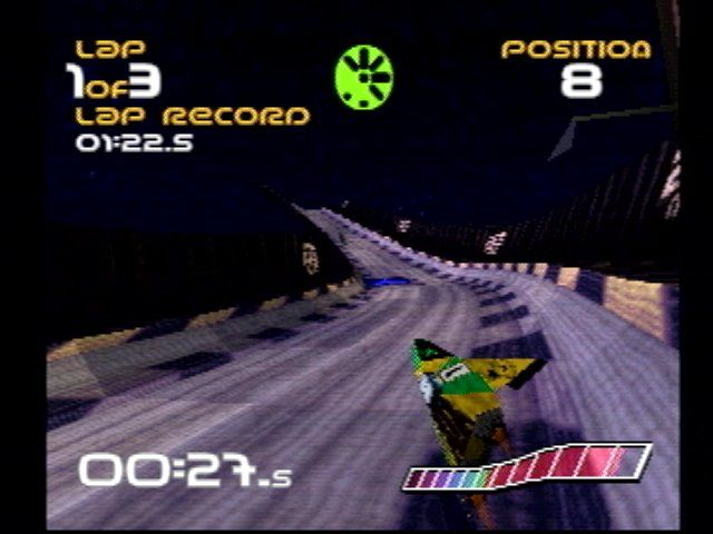WipEout PlayStation 3rd-person view