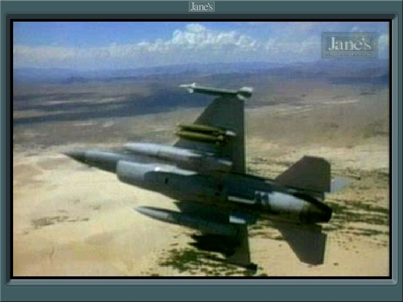 Jane's Combat Simulations: USAF - United States Air Force Windows Scene from the intro