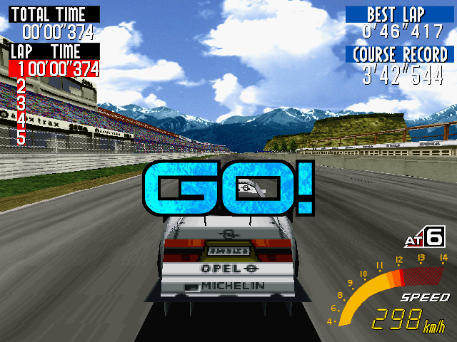 Sega Touring Car Championship Windows The race starts