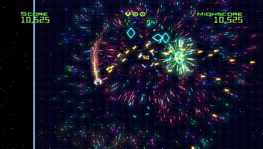 Geometry Wars: Retro Evolved Xbox 360 Kerblammo!