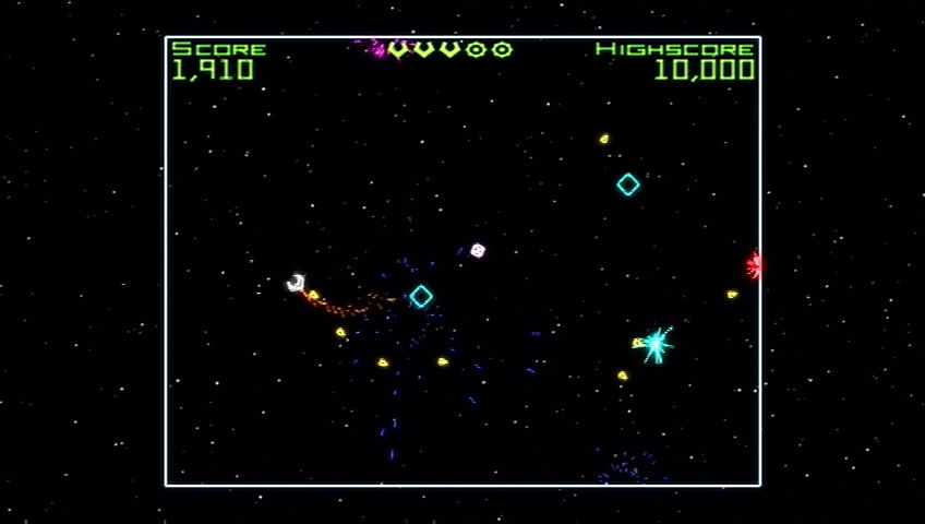 Geometry Wars: Retro Evolved Xbox 360 The same enemies from Evolved will pop up in Retro.