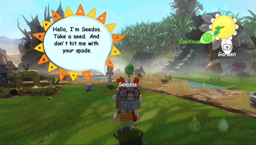 Viva Piñata Xbox 360 Seedos will give you a seed per day...but more if you hit him!