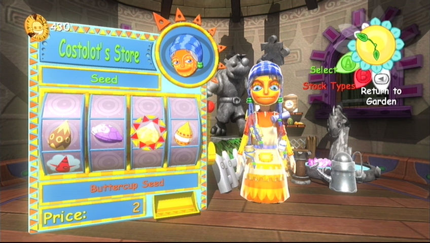 Viva Piñata Xbox 360 This is Lottie - she's more of a capitalist than Tom Nook.
