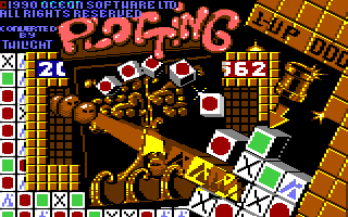 Plotting Commodore 64 Loading screen