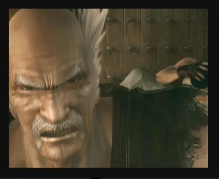 Tekken 5 PlayStation 2 They are after Heihachi (intro).