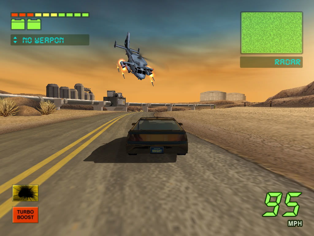 Knight Rider The Game Windows Screenshot Chased By An Armed