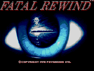 The Killing Game Show Genesis The US title screen. I am still at a loss as to why the title was changed.