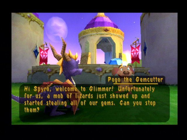 Spyro 2: Ripto's Rage! PlayStation One of the many missions you will go on