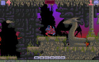 Ork Amiga The very first boss! You better get used to fighting these.