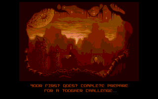 Ork Atari ST Wheee! And another pretty loading screen!