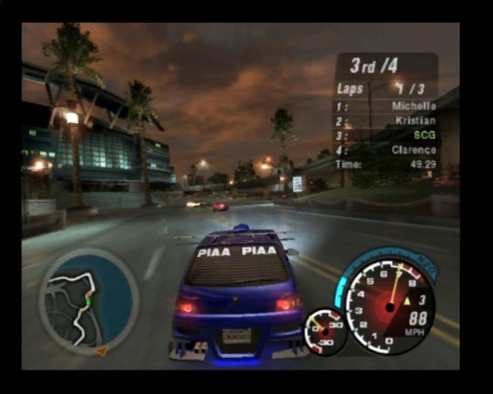 need for speed underground 2 screenshots for playstation. Black Bedroom Furniture Sets. Home Design Ideas