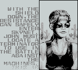 T2: Terminator 2 - Judgment Day Game Boy Time to infiltrate Skynet