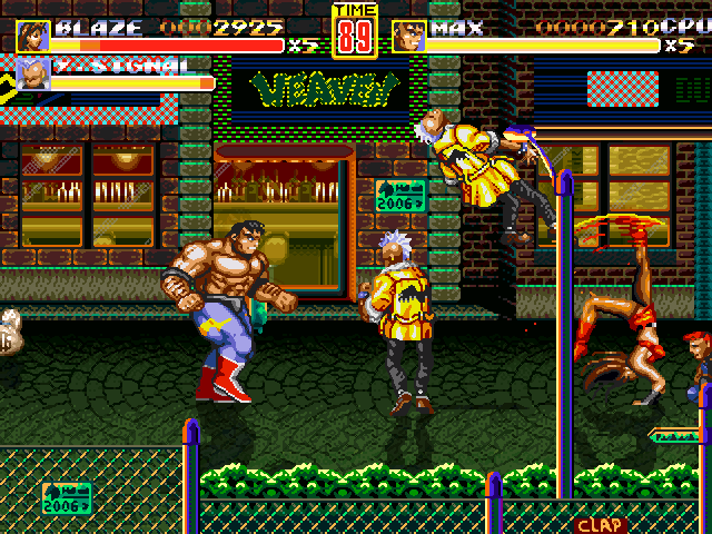 Streets of Rage Remake Screenshots for Windows - MobyGames