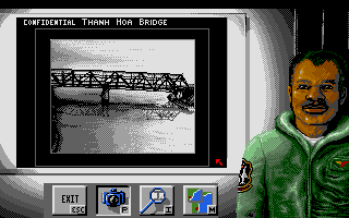 Flight of the Intruder Amiga Recon photo of today's target.