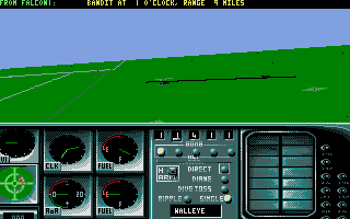 Flight of the Intruder Amiga Co-pilots view (A-6 Intruder)