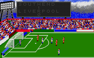 Football Manager Atari ST Another match