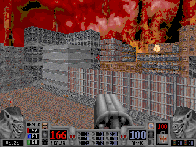 Blood: Plasma Pak DOS Cryptic Passage for Blood contains many large out-door areas.