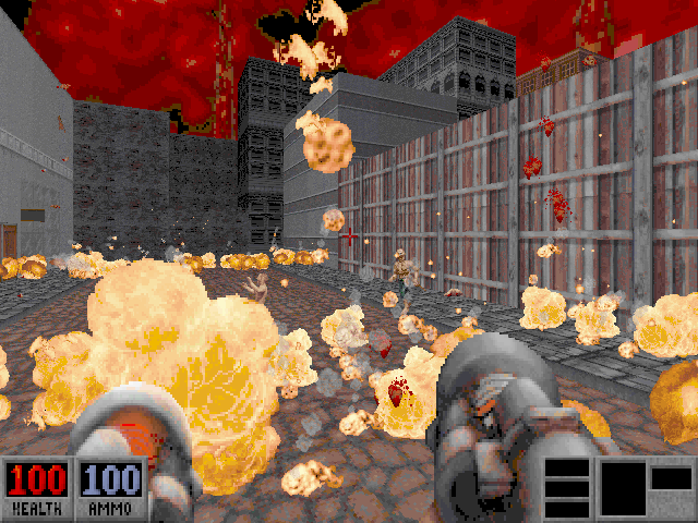 Blood: Plasma Pak DOS The Incinerator is a deadly weapon.