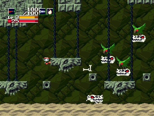 Cave Story Windows Some enemies work as a team.