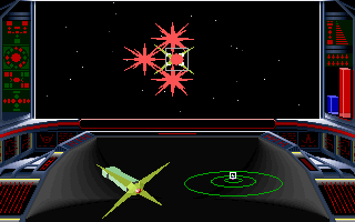 Lightspeed DOS Eat red spiky death, spacewad! (VGA)