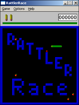 Rattler Race Windows 3.x Title screen