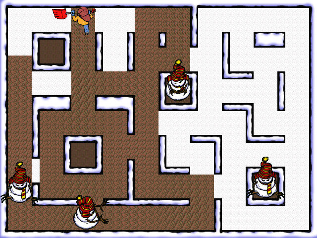 Snow Day: The GapKids Quest Windows Snowed In: A Pac-Man clone