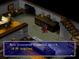 Thousand Arms PlayStation MP provided by Elemental Spirits is necessary to forge better weapons.