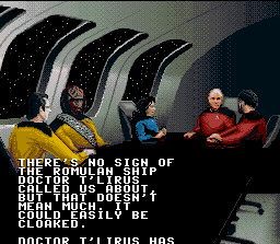 Star Trek: The Next Generation - Echoes from the Past SNES Briefing