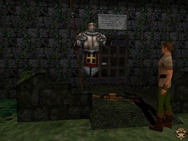 King's Quest: Mask of Eternity Windows Getting a quest from the knight