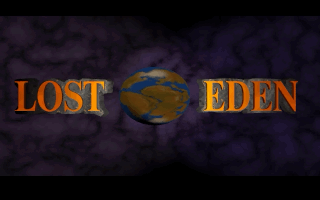 Lost Eden DOS Title screen