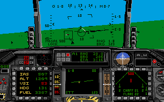 F-16 Combat Pilot Amiga Helicopters are very easy targets, just use the cannon.