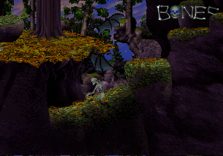 Mr. Bones SEGA Saturn Stage 5. Levels get longer and more difficult as you progress through the game.