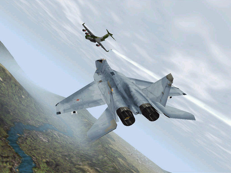 From mig 29 fulcrum 1998