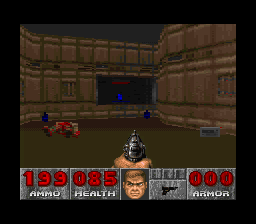 DOOM SNES A secret...but how to get to it?