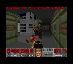 DOOM SNES Former sergeants.  You're not the only one with a shotgun.