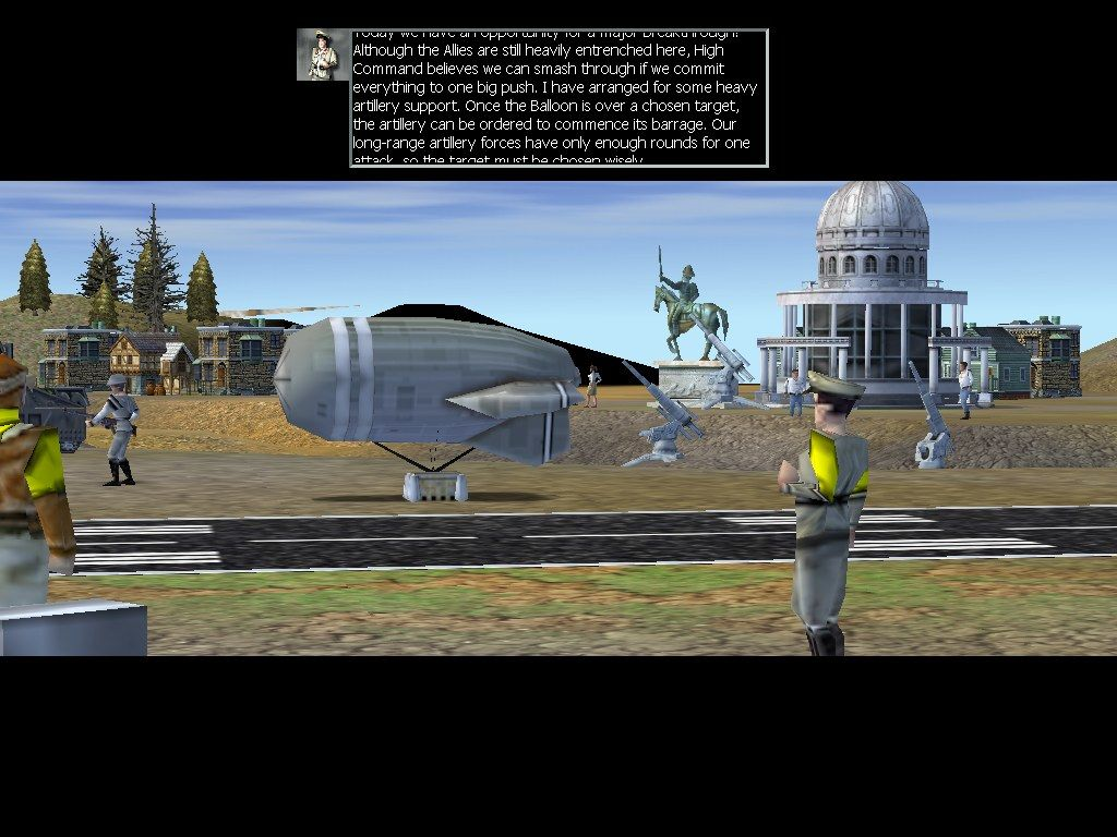 Empire Earth Windows ...a World War One camp...