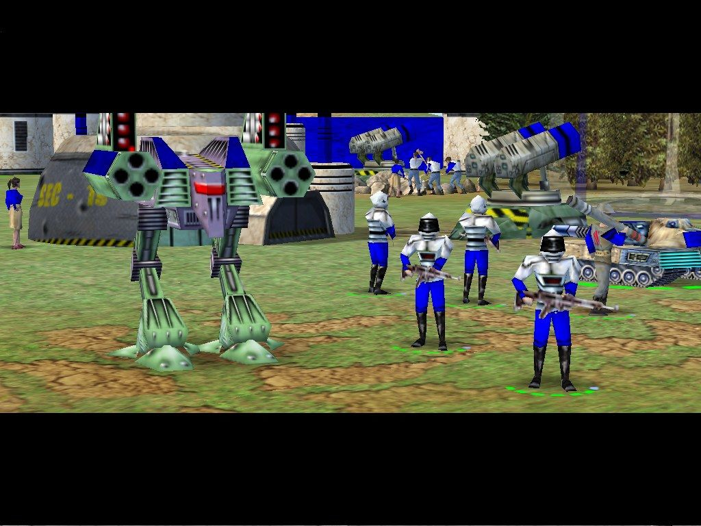 Empire Earth Windows ...and the war machines of the future.