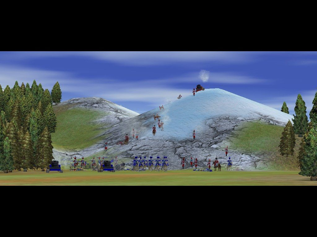 Empire Earth Windows Nice pre-battle panorama.