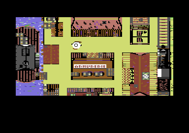Lucky Luke Commodore 64 Level 1 start