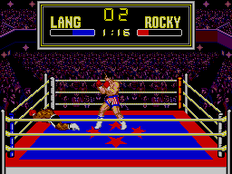 Rocky SEGA Master System It's Absolutely Unbelievable!