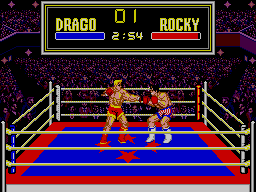 Rocky SEGA Master System This Seems To Be More Realistic