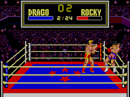 Rocky SEGA Master System Rocky About To Be Killed